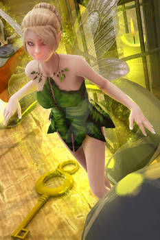 Tinkerbell and Hook