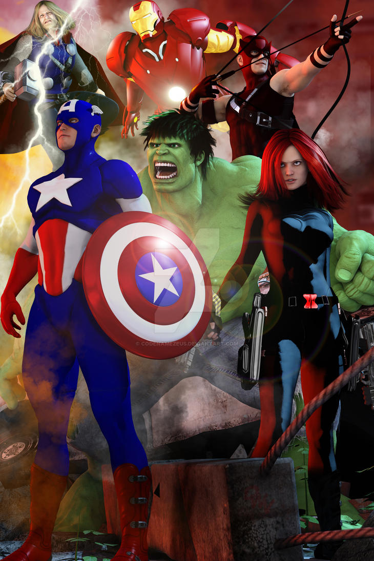 Avengers!!! by CodenameZeus