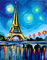 Eiffel VII by sagittariusgallery