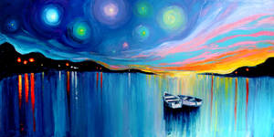 Midnight Harbor XXXII