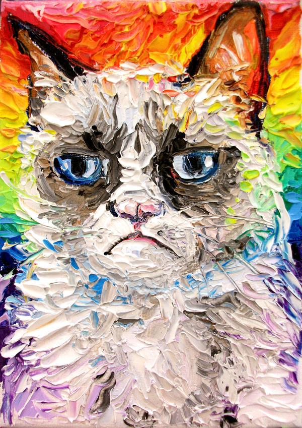 Why So Grumpy? by sagittariusgallery