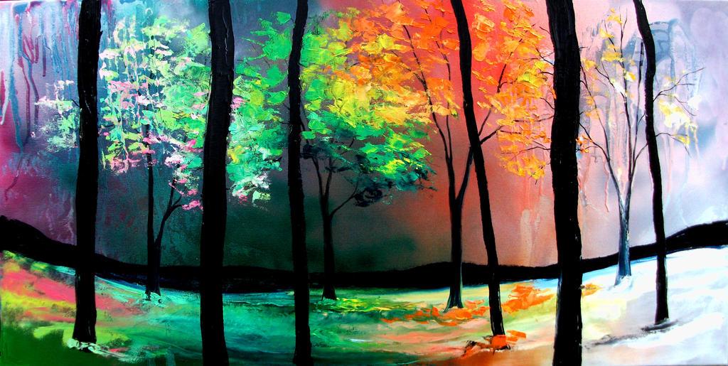 The Four Seasons by sagittariusgallery