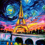 van Gogh Never Saw Eiffel