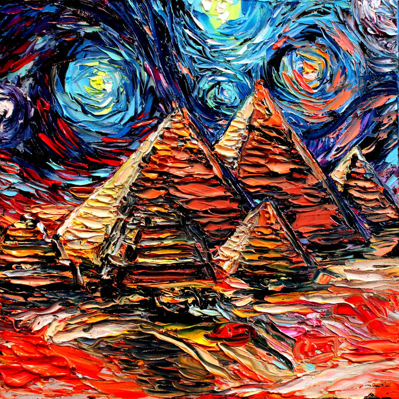 Wallpapers 1 additionally Van Gogh Never Saw Giza 565679345 besides Id64729 likewise Orions Belt moreover Reasons To Go Africa. on pyramids wallpaper