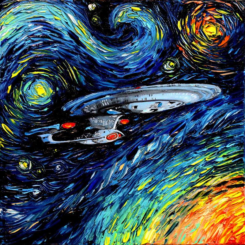 Van Gogh Wallpaper: Van Gogh Never Boldly Went By Sagittariusgallery On DeviantArt