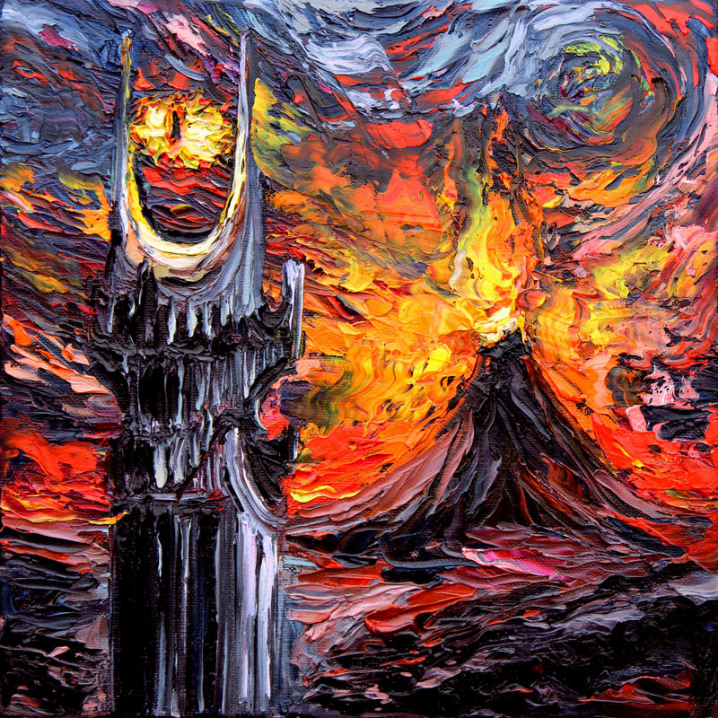 van Gogh Never Saw The Land of Shadow by sagittariusgallery