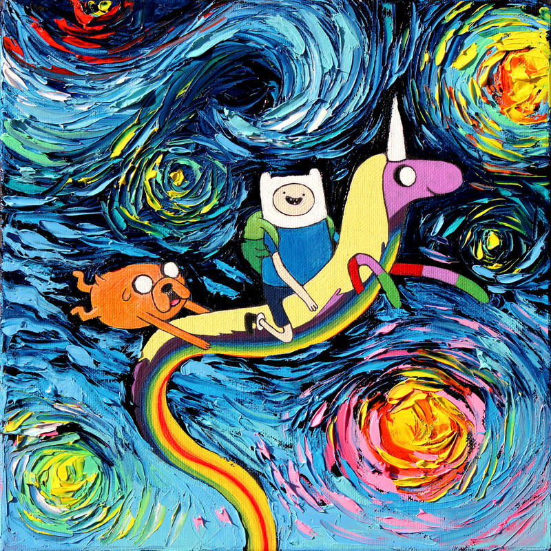 van Gogh Never Went On An Adventure by sagittariusgallery