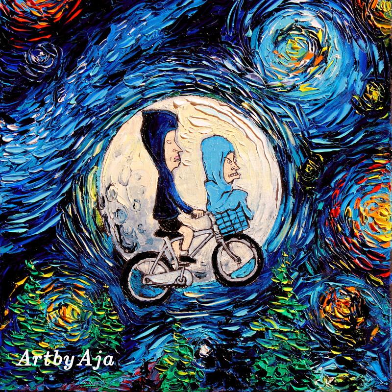 van Gogh Never Met The Great Cornholio by sagittariusgallery