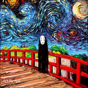 van Gogh Was Never Spirited Away by sagittariusgallery