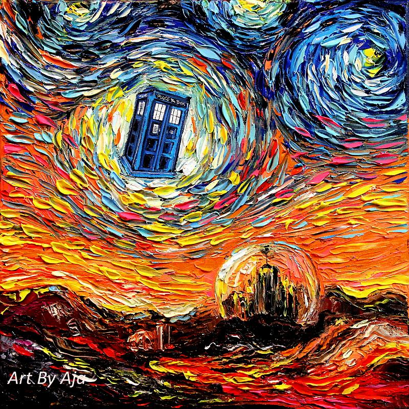 van Gogh Never Saw Gallifrey by sagittariusgallery