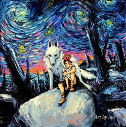 van Gogh Never Met The Princess by sagittariusgallery