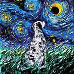 Dalmatian Night by sagittariusgallery