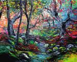 Following the Brook by sagittariusgallery