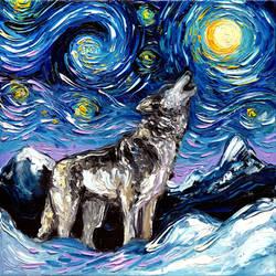 Lupine Night by sagittariusgallery