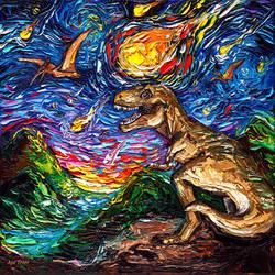 Jurassic Night by sagittariusgallery