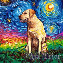 Yellow Labrador Night 2
