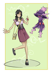 Trainer Fongie by AwesomeShinigami