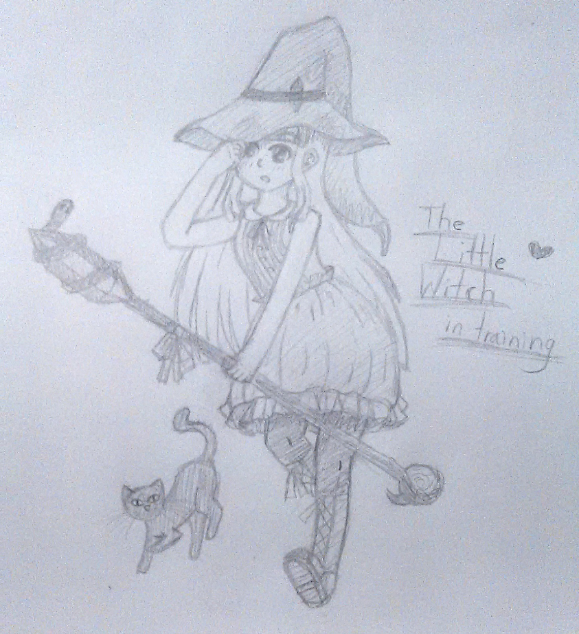 Little Witch in Training by Harumii-chama