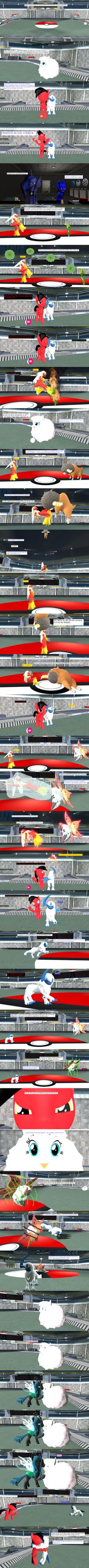 pokemon tournament Crimson vs Flufflepuff by kxp71
