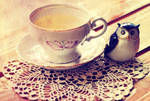 Tea for one by ralucsernatoni