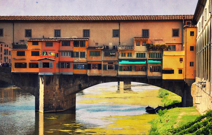 Ponte Vecchio by ralucsernatoni