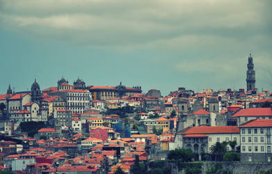 Rooftops in Porto
