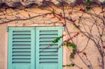 The turquoise window by ralucsernatoni