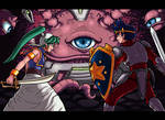 Clash in Monster World by LamunesADV