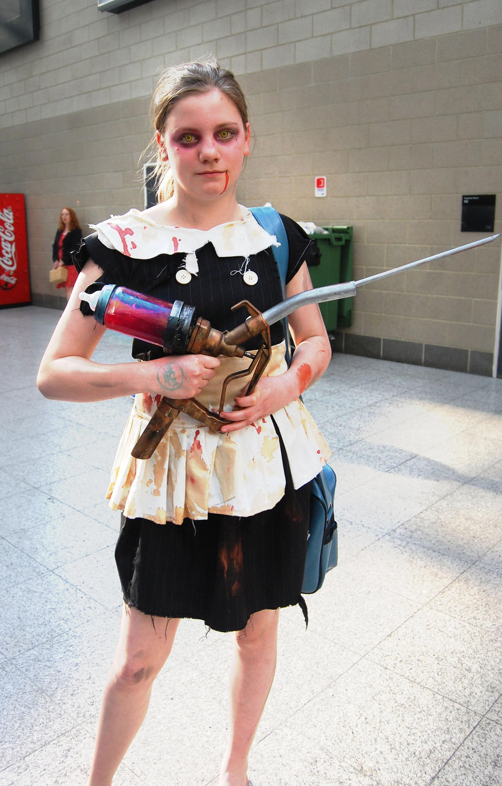Little Sister Bioshock by Choochoocheroo