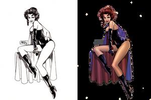 Black Queen: Coloring John Byrne's Jean Grey