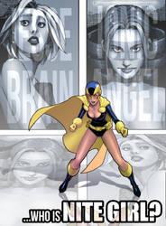 The Cosmic Beholders Nite Girl: Who is Nite Girl?
