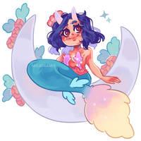 Chibi mermaid