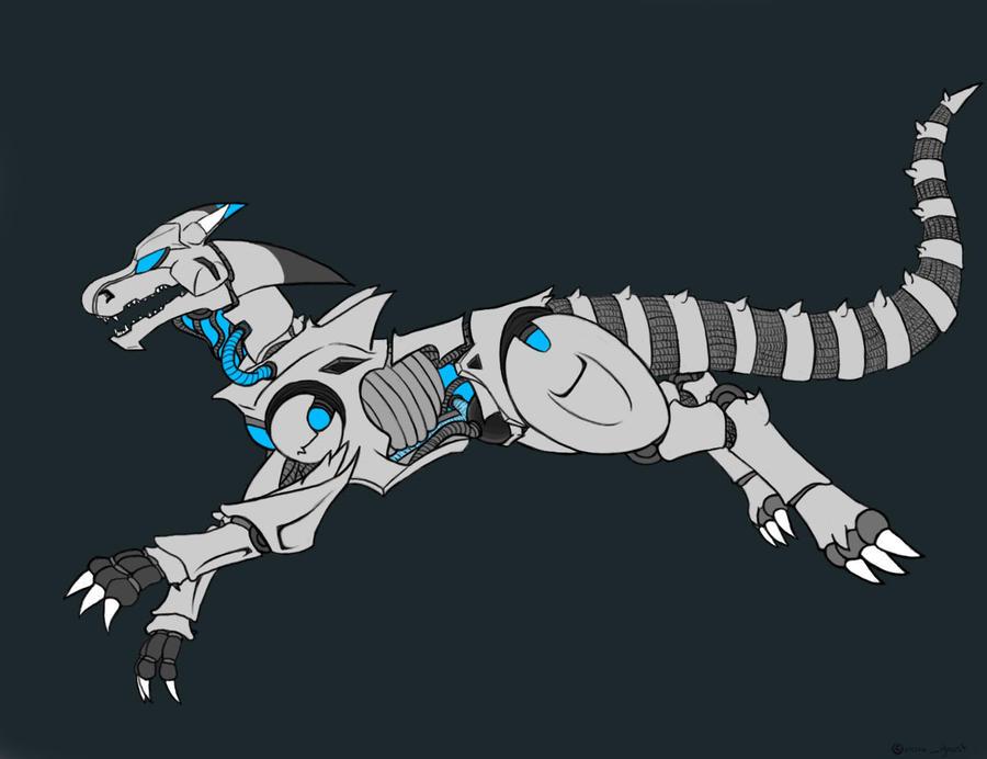 robot dragon by nova galaxy on deviantart