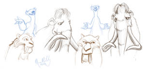 ice age sketchies by RedDestiny