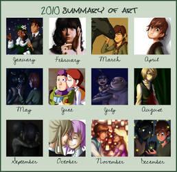 2010 Summary of Art by RedDestiny