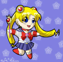SM - Chibi Sailor Moon by RedDestiny