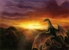 A dragon's Tale by Luarcis