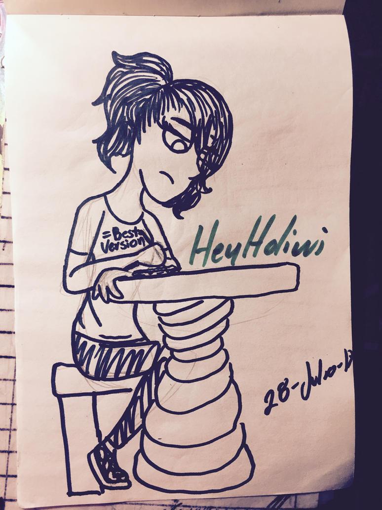 Segundo dia del curso en la uni by hey-holiwi