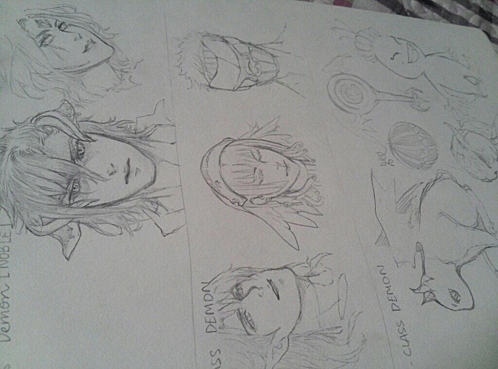 Sketch by Kodomina