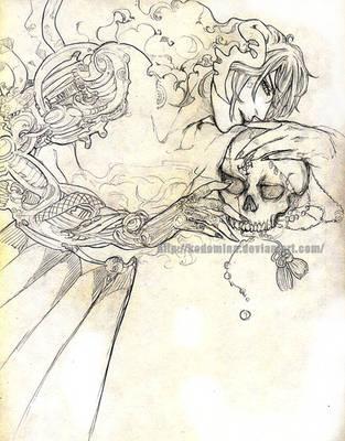 Demon and machine by Kodomina