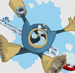Air man stage by Gashi-gashi