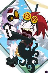Wuya and jack by Gashi-gashi