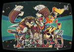 Dr.wily and his Robotmasters