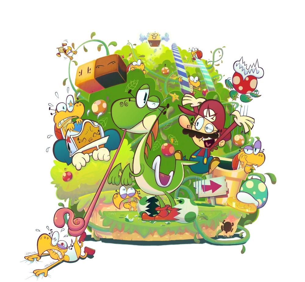 Yoshi's island 2 by Gashi-gashi