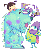 Pixel_monsters inc. by Gashi-gashi