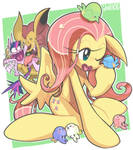 doodle:Fluttershy ..and More