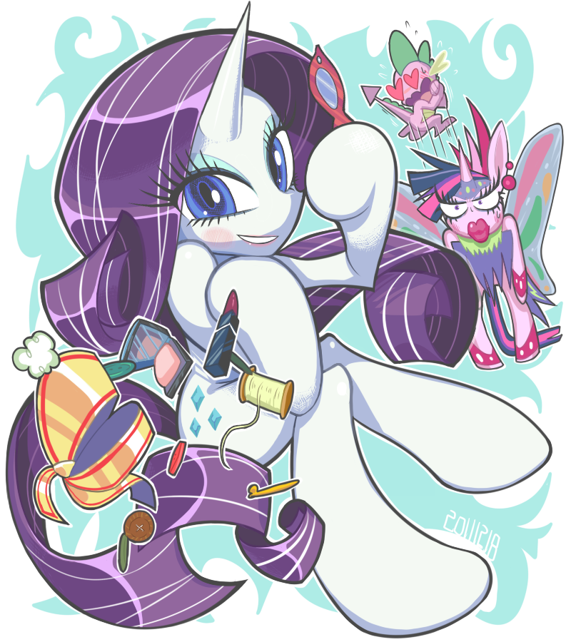 doodle:Rarity ..and More by Gashi-gashi