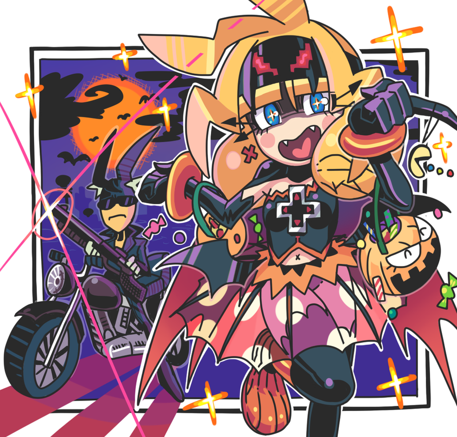 Halloween doodle 2012. by Gashi-gashi