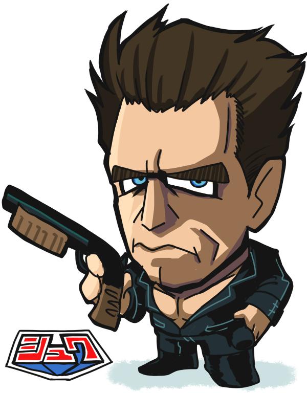 Schwarzenegger. by Gashi-gashi