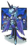 Humanized Princess Luna.